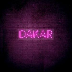 neoninis LED ženklas Dakar